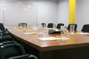Charwell House Boardroom Hire service is ideal for larger, professional meetings.